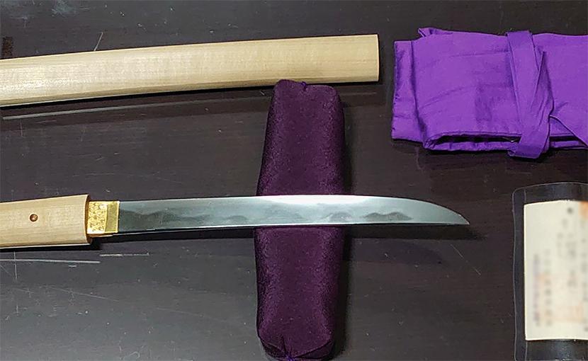 2020年8月28日 栃木県のお客様から出張買取の短刀