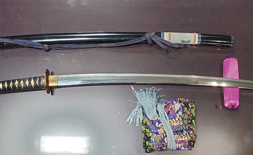 2020年10月28日 北海道のお客様から宅配買取の刀
