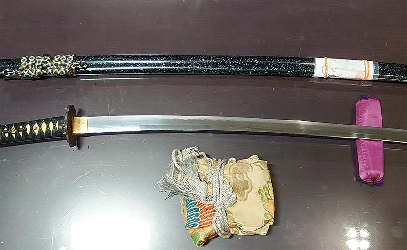 2020年11月28日 神奈川県のお客様から出張買取の刀