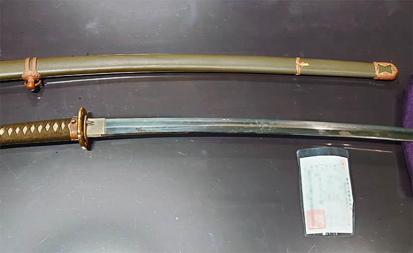 2020年12月14日 埼玉県のお客様から持込買取の刀